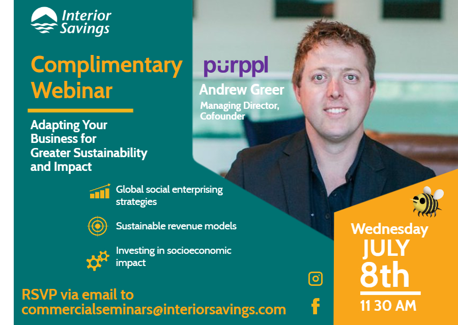 Interior Savings July 8th - Adapting Your Business for Greater Sustainability and Impact